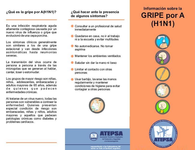 Campaña de Prevención contra la Gripe A